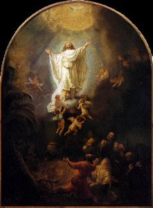 ascension by rembrandt