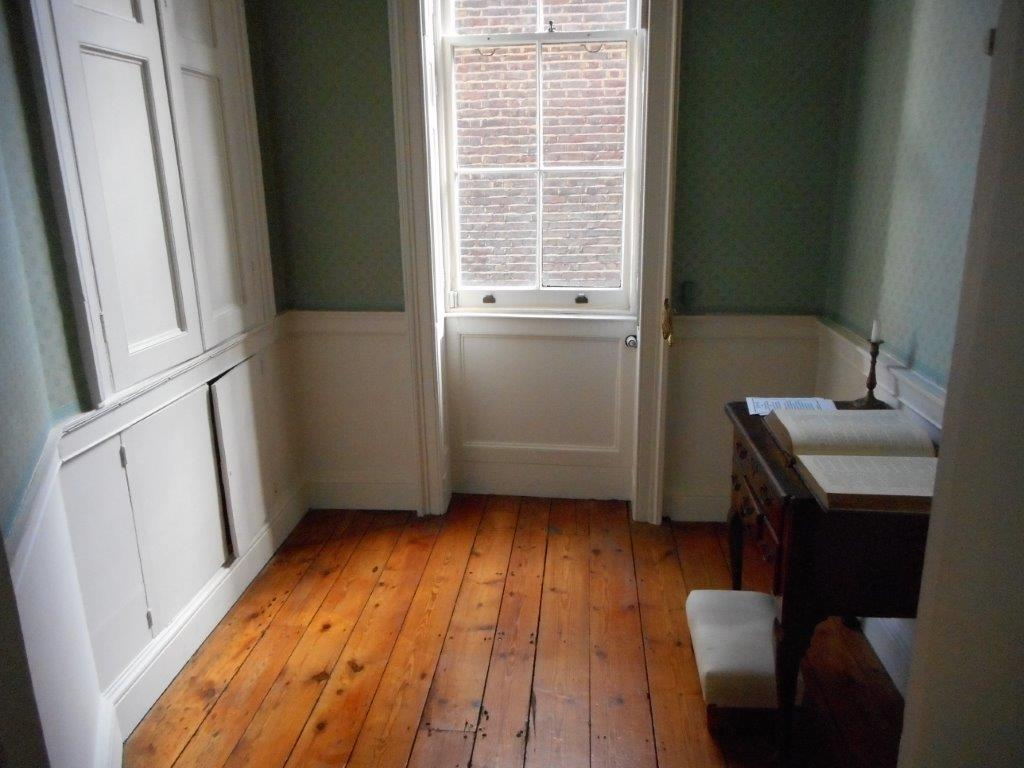 Prayer Room - John Wesley House - London UK