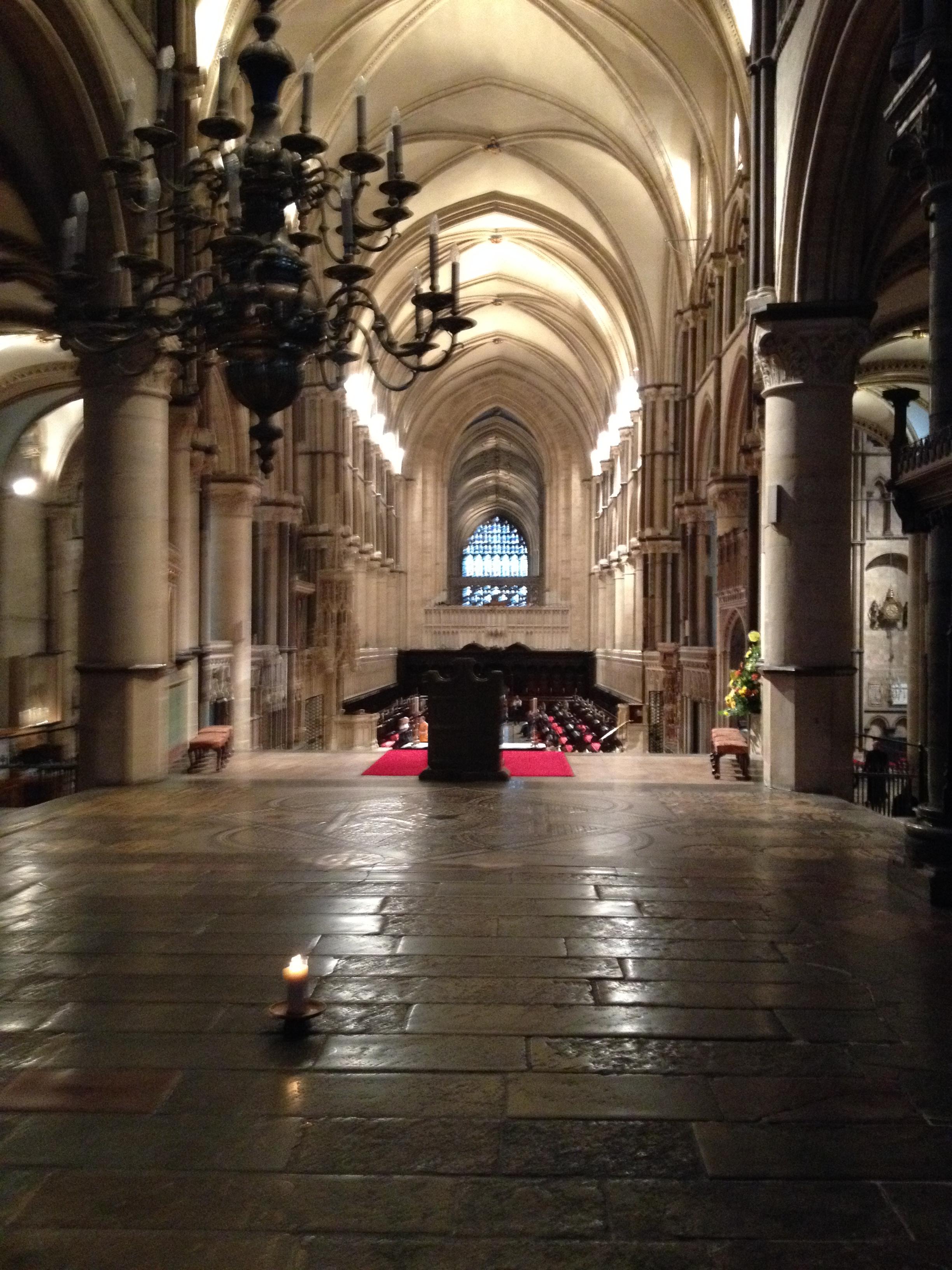 Thomas Becket Memorial at Canterbury Cathedral
