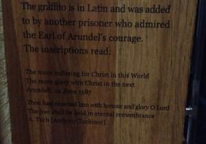 Arundell Graffito Translation