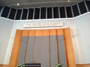 Metropolitan Tabernacle of London Interior